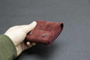 гаманець з натуральної замші