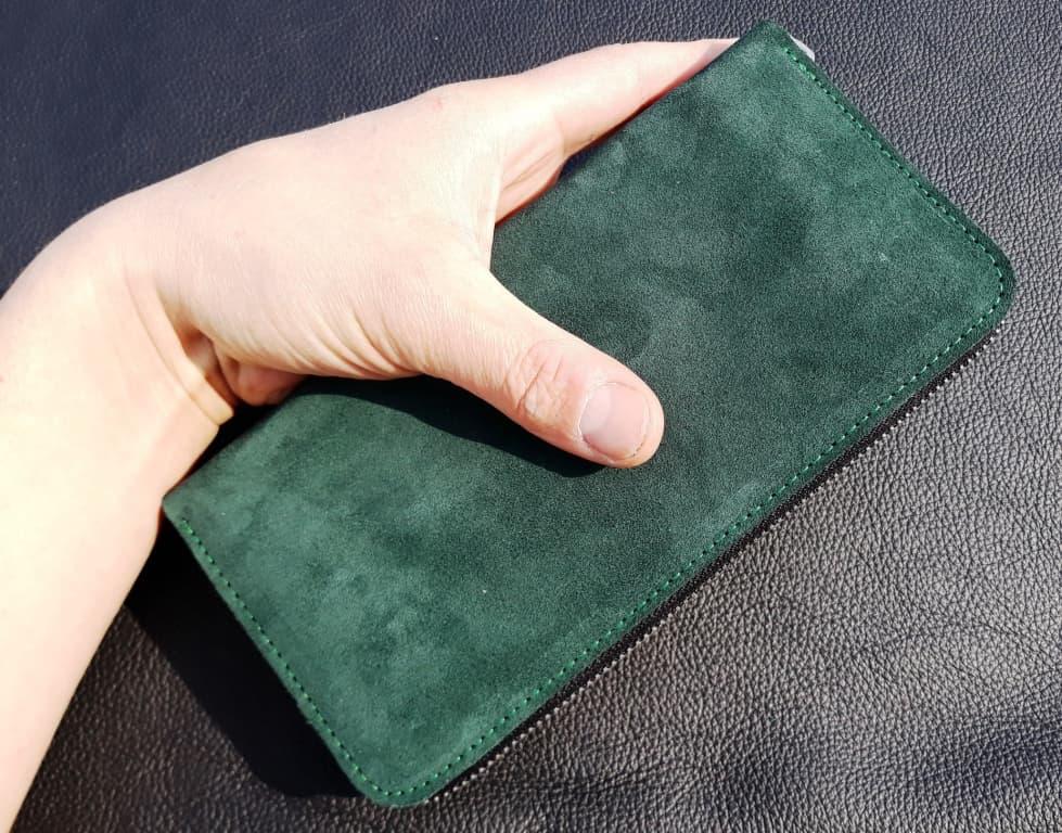 замшевий гаманець
